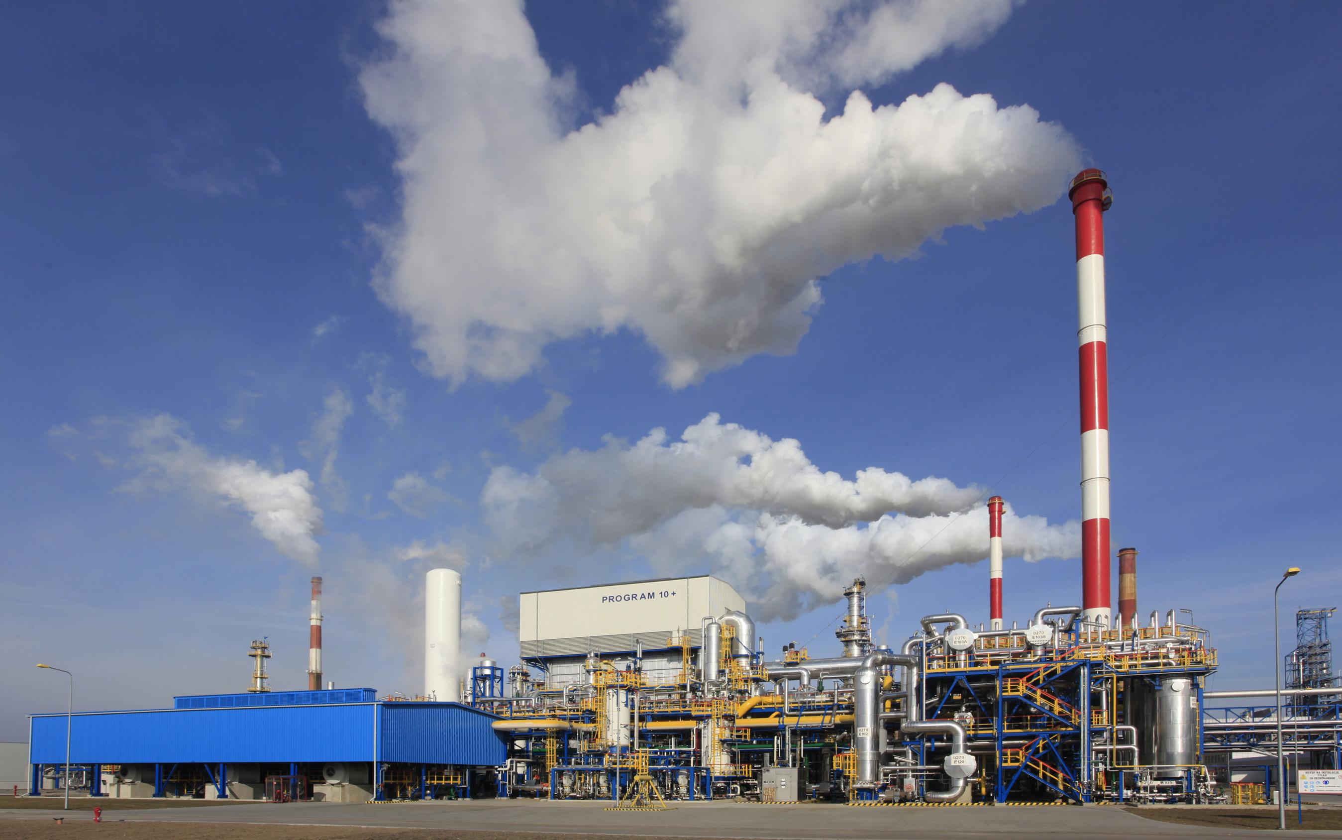 Wytwórnia wodoru (HGU) w gdańskiej rafinerii Grupy LOTOS