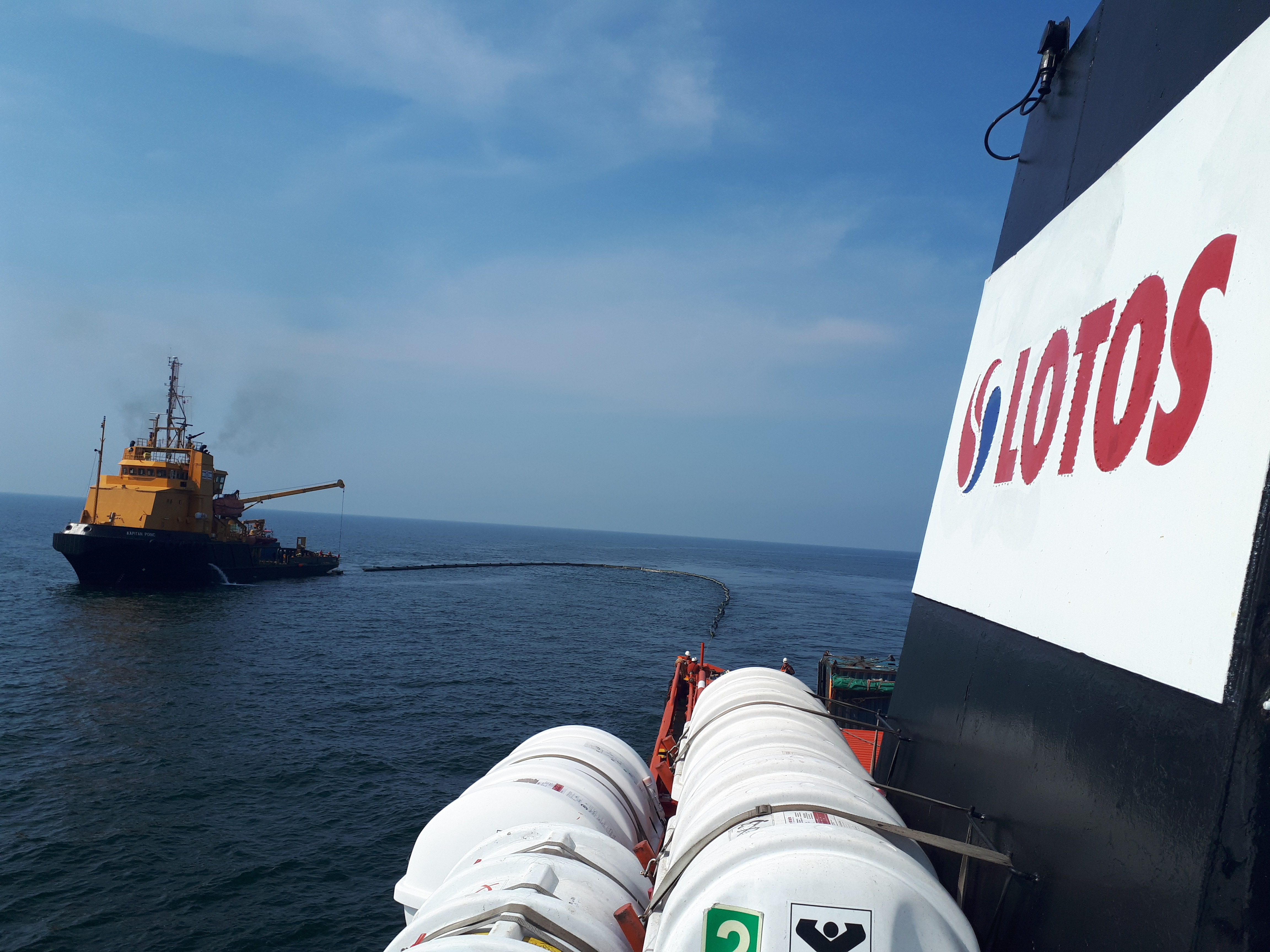 LOTOS Petrobaltic ćwiczy na Bałtyku