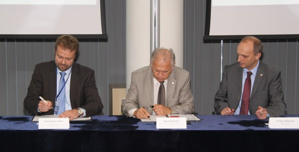 The LOTOS Group signs an agreement on Oxygen Generation Unit construction for the EFRA Project