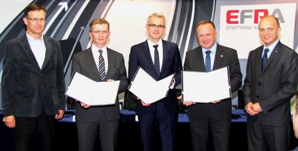Rurociągi dla Projektu EFRA – umowa z KB Pomorze