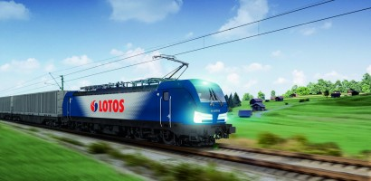 LOTOS Kolej with the most advanced locomotive in Europe - Vectron MS from Siemens Mobility