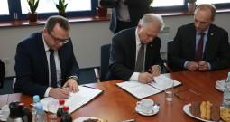 Podpisanie umowy z firmą Tebodin na nadzór inwestorski
