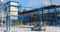 Zima na budowie Projektu EFRA