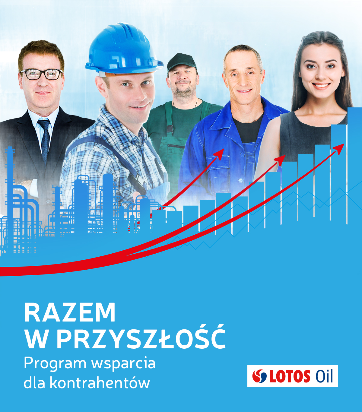 LOTOS Oil grafika