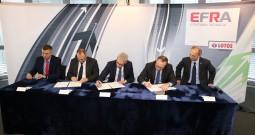 Podpisanie umowy z Elektromontażem Gdańsk S.A.