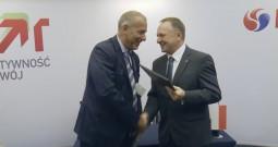 Podpisanie umowy na głównego wykonawcę Projektu EFRA