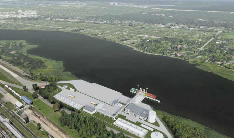 The small-scale LNG terminal in Gdańsk - visualizations1