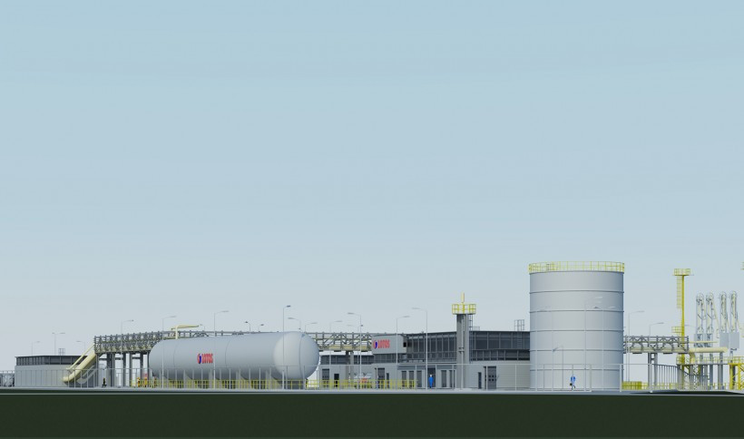 The small-scale LNG terminal in Gdańsk - visualizations2
