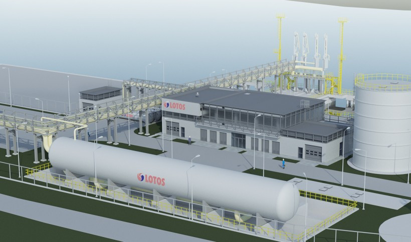 The small-scale LNG terminal in Gdańsk - visualizations4