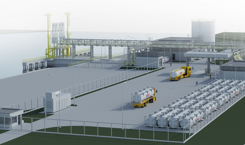 The small-scale LNG terminal in Gdańsk - visualizations5